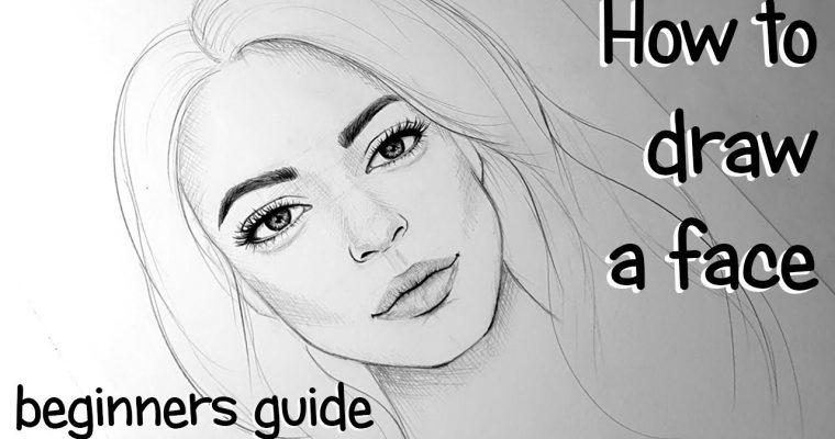 איך לצייר פנים – למתחילים
