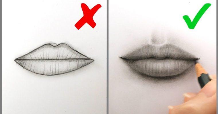 עשה ואל תעשה – ציור שפתיים