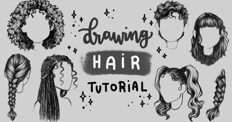 איך מציירים שיער