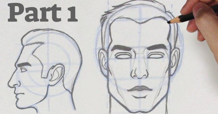 איך לצייר פנים מזויות שונות – 1
